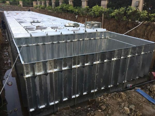 消防地埋式箱泵一体化